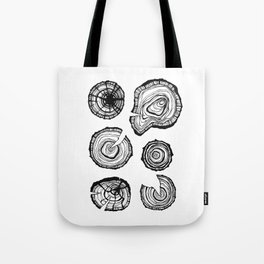 Tree stumps Tote Bag