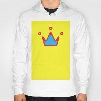 crown Hoodies featuring CROWN by ^NHRK