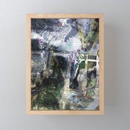 Frankenstein Framed Mini Art Print