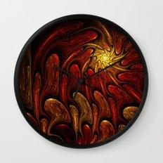 Elements: Fire Wall Clock