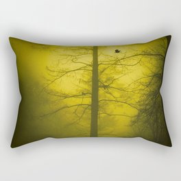 Yellow Mist Rectangular Pillow