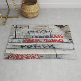 Croix Rousse stairs Rug