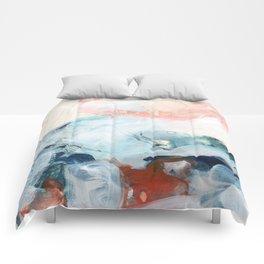 abstract painting III Comforters