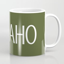 Idaho: Moose (Mountain Green) Coffee Mug