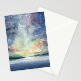 As the sun sets Stationery Cards