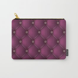 Purple Upholstery Pattern Carry-All Pouch
