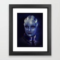 Mass Effect: Liara T'soni Framed Art Print
