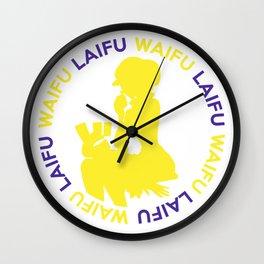 Waifu Laifu Koala Inspired Shirt Wall Clock