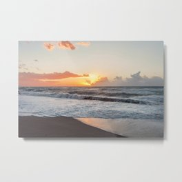 That warmth that remains in your heart after a sunset... Metal Print