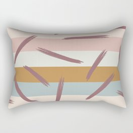 Retro Abstract Pattern Rectangular Pillow