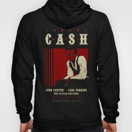 Cash Live at Folsom Prison Hoody