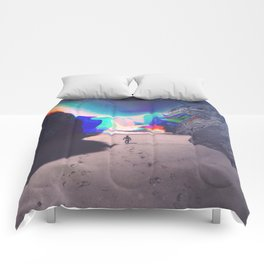 Rainbow Waves Comforters