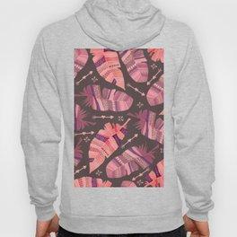 Boho Rose Love Abstract Hoody