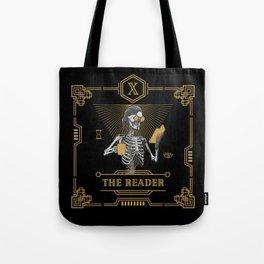 The Reader X Tarot Card Tote Bag