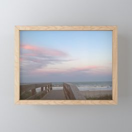 Candy Floss at the Beach Framed Mini Art Print