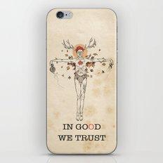 In good we trust iPhone & iPod Skin