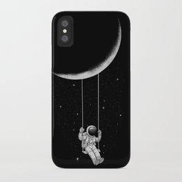 Moon Swing iPhone Case