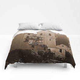 High Noon Riomaggiori Sepia Comforters