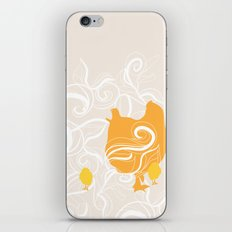 Chick poster iPhone & iPod Skin