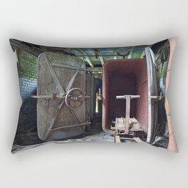 Abandoned Lonaconing Silk Mill Rectangular Pillow
