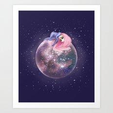 Lost in a Space / Callistori Art Print
