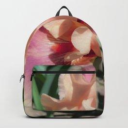 Beautiful iris Backpack