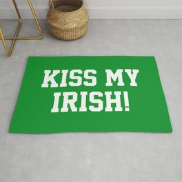 Kiss My Irish! Rug