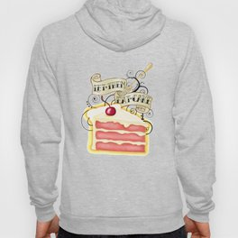 Let Them Eat Cake Vintage Tattoo Style Hoody