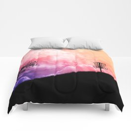 Basket On A Hill Comforters