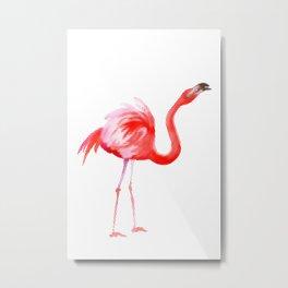 Flamingo #3 Metal Print