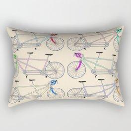 Tandem Tantrum Rectangular Pillow