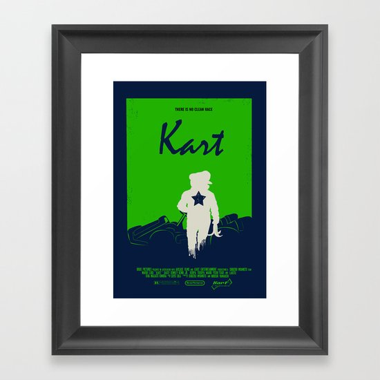 Kart Framed Art Print