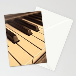 Old Wooden Piano Stationery Cards