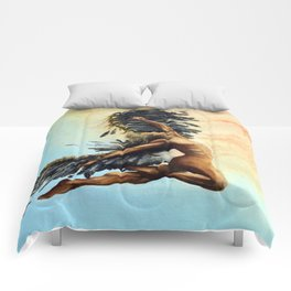 Season of the Legend - Icarus Descending Comforters