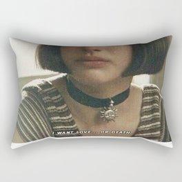 i want love...or death Rectangular Pillow