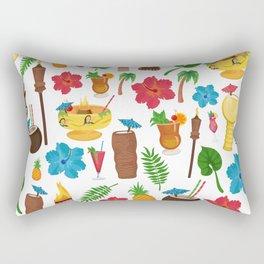 Totally Tiki Rectangular Pillow