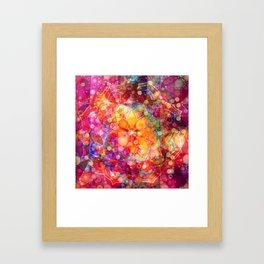 Dreaming Lotus Framed Art Print