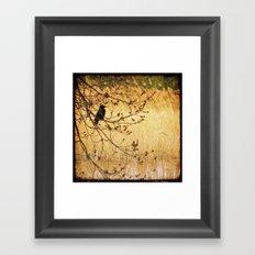Spring Bird Framed Art Print
