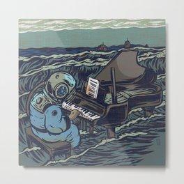 Symphony Of The Rising Tide Metal Print
