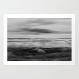 Touching the sky Art Print