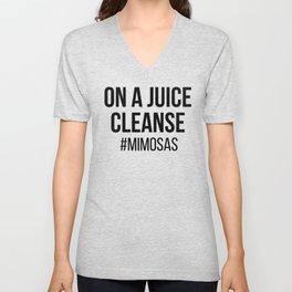 On A Juice Cleanse Unisex V-Neck