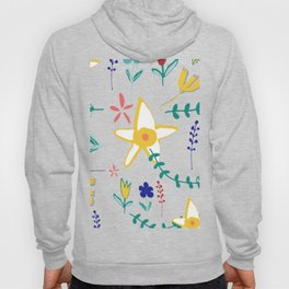 Floral The Tortoise and the Hare is one of Aesop Fables green Hoody