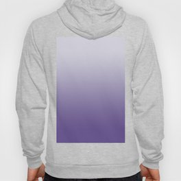 Ombre Ultra Violet Gradient Motif Hoody