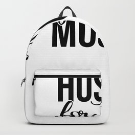 Gym Design Hustle For that Muscle Backpack