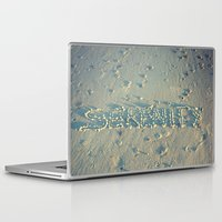 serenity Laptop & iPad Skins featuring Serenity by Brianne Lanigan