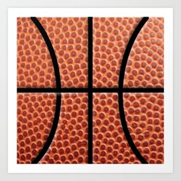 BasketBall Dreams Art Print