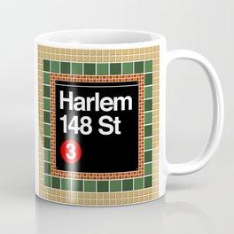subway harlem sign Coffee Mug