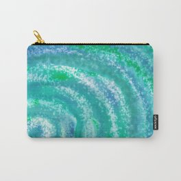 Swirling Blue Ocean Waters - Abstract Carry-All Pouch