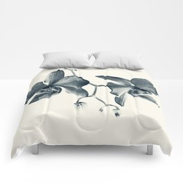 Cyan Orchid #1 Comforters
