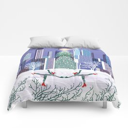 Christmas Park Comforters